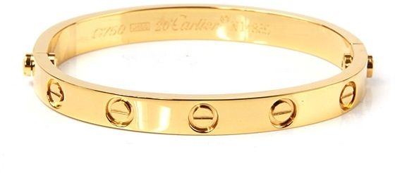 img yellow bangles copy new brand gold cartier bracelet love bangle