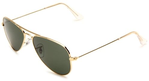 RAY-BAN Aviator Small Metal RB3044 L0207 Arista Gold G-15 Lens 52mm ... a989648234
