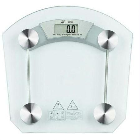 souq digital thick glass weighing scale weight measurement machine