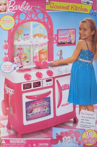 Barbie Gourmet Kitchen Over 3 5 Ft Tall Child Size Playset W 19