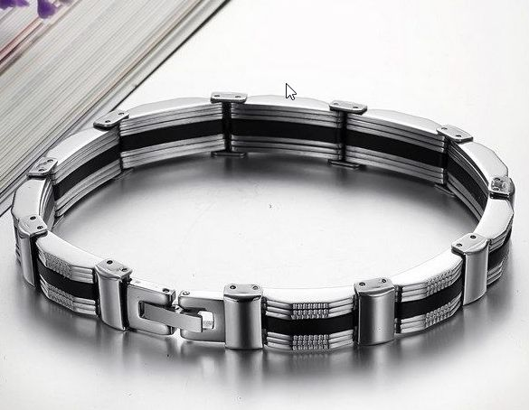 Elegant Fashion Mens Bracelet Souq Uae