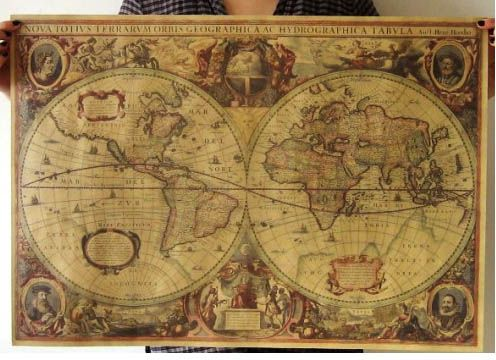 Buy vintage wall globe old world map ksa souq this item is currently out of stock gumiabroncs Choice Image