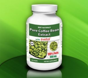 Best Naturals Green Coffee Bean Extract With Svetol 800 Mg Per
