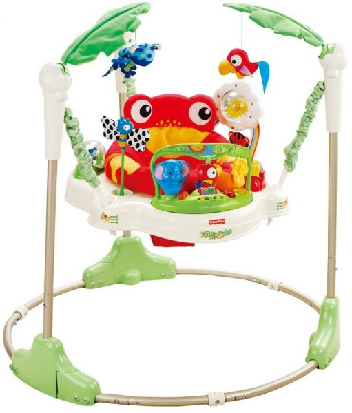 552a715d2 Fisher-Price Rainforest Jumperoo Baby Walkers (Green