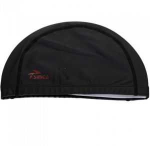 d12eca03a0c21 PU Coating Breathable Swim Swimming Cap Hat for Men Women Male Female  Unisex H9419Black
