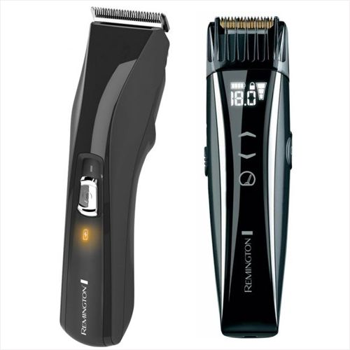 remington pro power hair clipper with remington touchscreen beard trimmer hc5150 mb4550. Black Bedroom Furniture Sets. Home Design Ideas