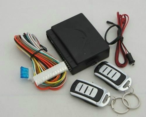 Car Door Lockunlock Keyless Entry System With Remote Controllers