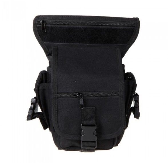 Drop Leg Bag Motorcycle Outdoor Bike Cycling Thigh Pack Waist Belt Tactical  Bag Multi-purpose  H10106 Black