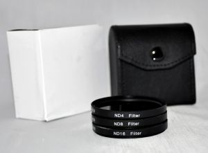 ND8 ND Neutral Density Motion Blur Shutter Speed Filter for Canon EF 20mm f//2.8 USM Lens
