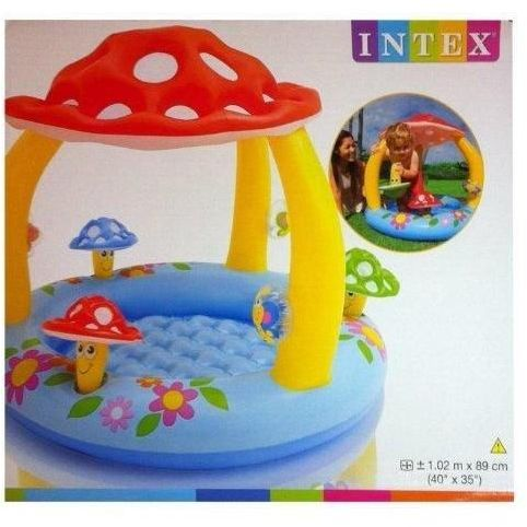 intex mushroom baby pool model 57407 price review and. Black Bedroom Furniture Sets. Home Design Ideas