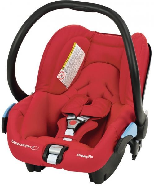 Bebe Confort Streety Fix Car Seat Red 86895950