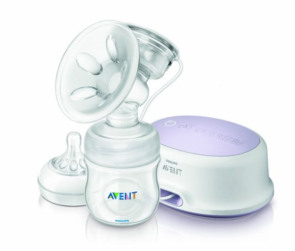 Electric breast pump in