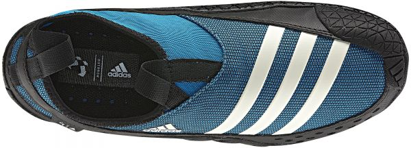 new product 357fc b9a03 Adidas V23077 Jawpaw II Shoes for Men (Blue and Black) | KSA ...