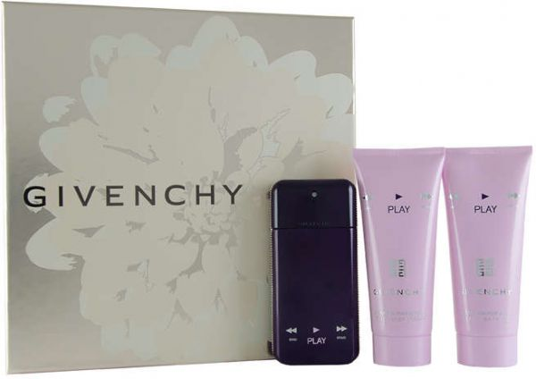 219.99 AED & Givenchy Play Intense For Her 50ML EDP 3 Pieces Gift Set for Women ...