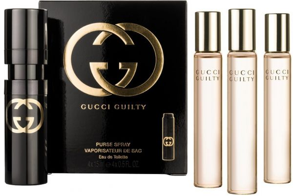 8366760090d Gucci Guilty EDT Purse Spray for Women Set of 4