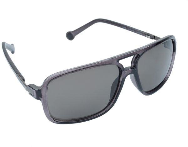 6c0ff2d60066 Converse Men s Rectangular Sunglasses - Smoke -CONH009-SMO