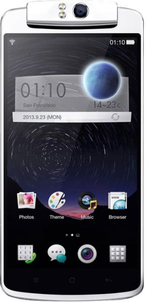 OPPO N1 (16GB, Color OS, 3G + Wifi, White)
