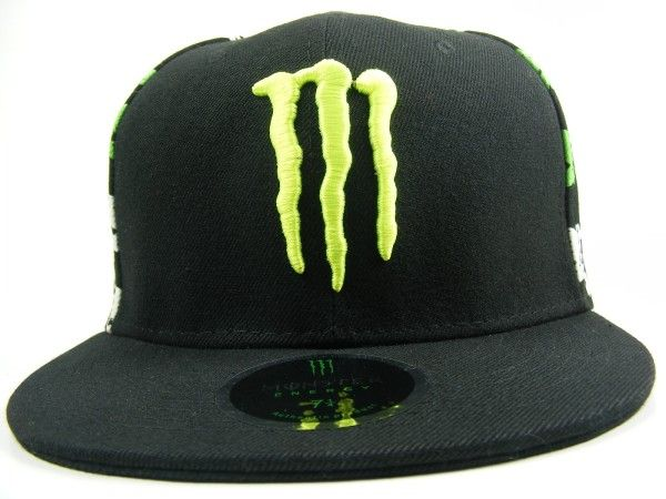 19c7a5e0f84 MONSTER III Cap - Monster Energy brand fitted fashion cap
