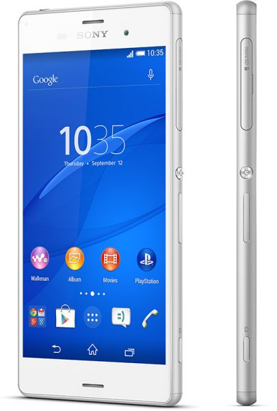 Sony Xperia Z3 (16GB, Android OS, 4G LTE + Wifi, White)