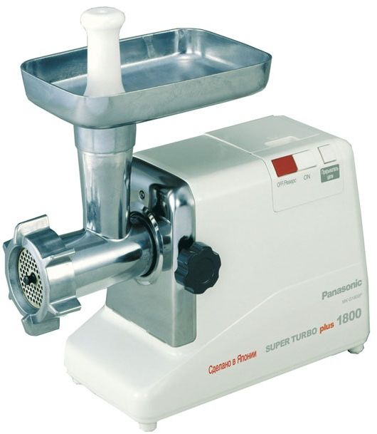 Panasonic Meat Grinder, White [MKG1800]