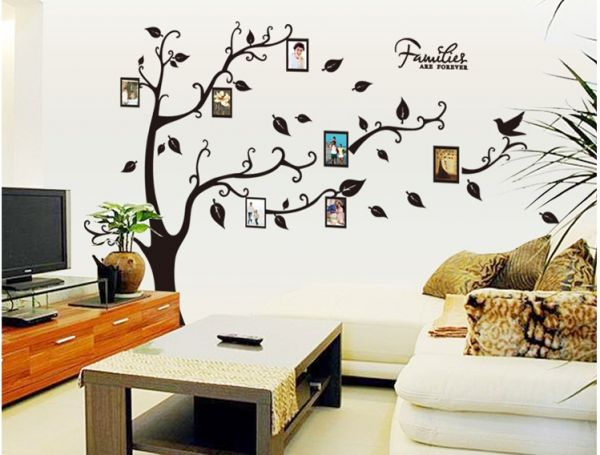 Photo Frames Tree Removable Wall Sticker Decor Mural Decal Home ...