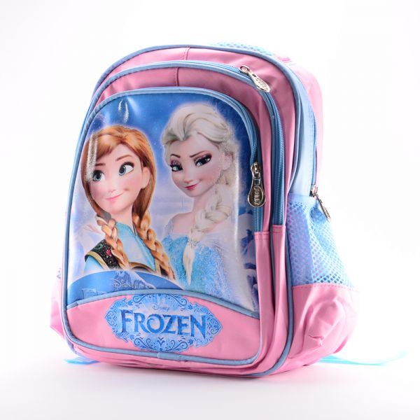 e9b36eeb811 Frozen Princess Anna and Elsa School Bag for Girls - Pink