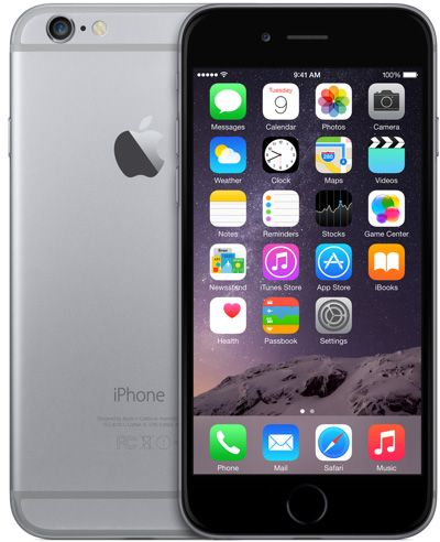 Image result for iphone 6 space gray