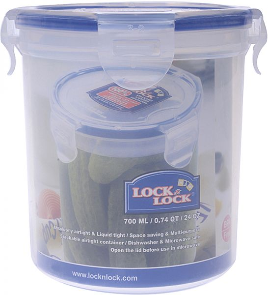 Lock Lock Round Food Container 700 ml HPL932D