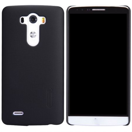 Nillkin Frosted Shield Hard Case Cover for LG G3 D850 D855 With Screen Protector - Black   Souq - UAE