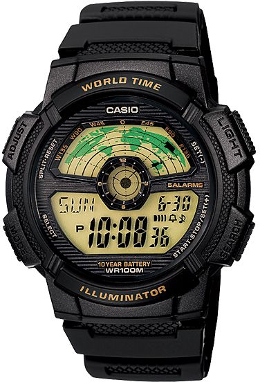 c83c208927d Casio AE-1100W-1BV For Men - Digital