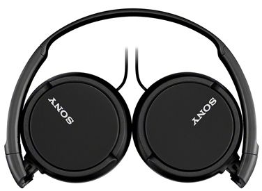 Sony MDR-ZX110AP Extra Bass Smartphone Headphones (Black)