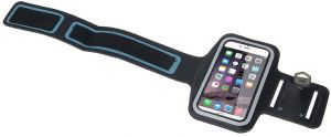 Sports Running Gym Armband Case cover for Apple iPhone 6/iPhone 6S Plus & Samsung Galaxy Note 3/4 -Black