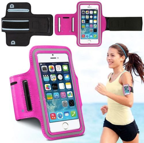 wholesale dealer 27126 a9725 Sports Running Gym Armband Case cover for Apple iPhone 6/iPhone 6S Plus &  Samsung Galaxy Note 3/4 -Hot Pink