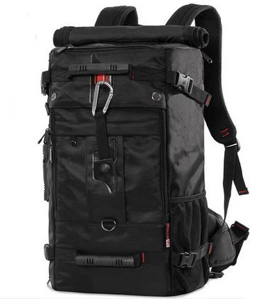 0adec3b35df Multifunctional 40L personality oxford backpack men waterproof travel Bag  handbag OSM91 black   Souq - UAE