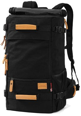 4d8bb87f54fd Hiking Trekking Bag canvas backpack men large capacity travel bag ...