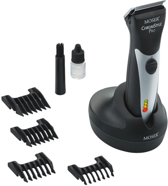 Moser Chromstyle Professional Cord/Cordless Hair Clipper, Black [1871-0171] | Souq - UAE