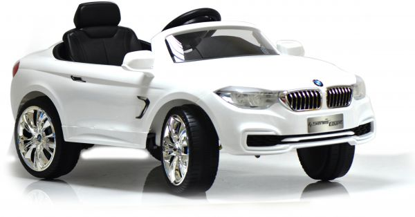 Licensed Remote Controlled Bmw 4 Series Coupe Ride On Car White 669r Souq Uae