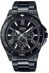 Casio for Men Analog MTD-1075BK-1A1 Stainless Steel Watch 1506978fcf2