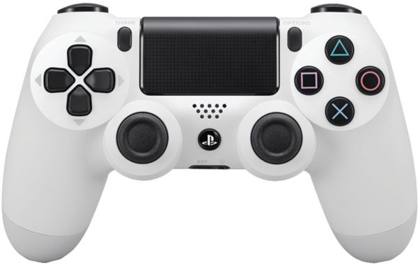Sony PlayStation DualShock 4 Wireless Controller - White  c6b9e57978