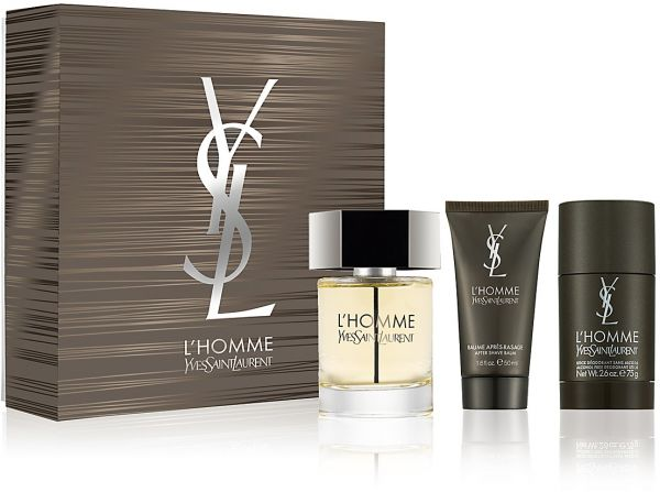 499.00 AED  sc 1 st  Souq.com & Yves Saint Laurent Lu0027 Homme 100ML EDT 3 Pcs. Gift Set for Men | Souq ...