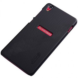 Nillkin Black Super Frosted Shield Hard Back Cover Case For Lenovo S850 With Nillkin Screen Guard