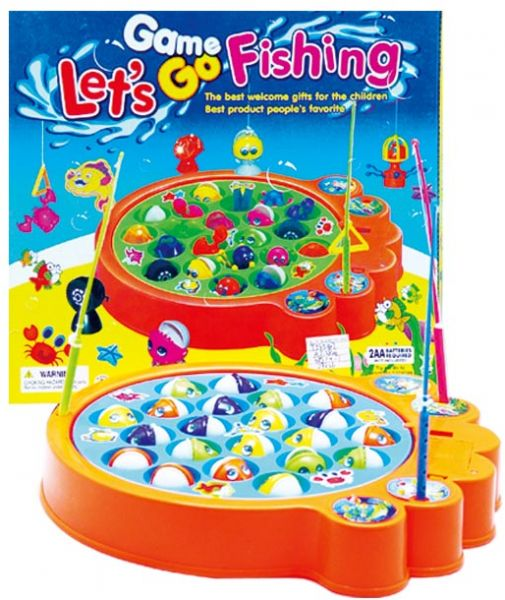 Kids Children Fishing Game Toys Battery Operated Game 4 Players