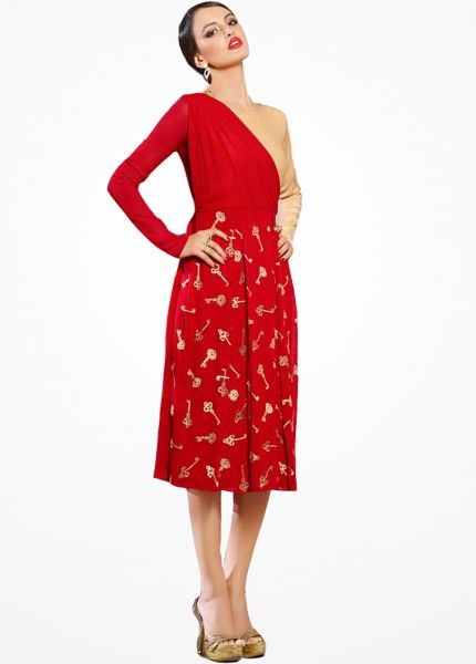 99f56dc8403 Red Western Wear For Valentine s Day Special