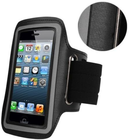 best service 1213b 0ea69 iPhone 6/iPhone 6S (4.7 Inch) Arm Band Mobile Phone Holder For Sports Gym  Running Jogging Black