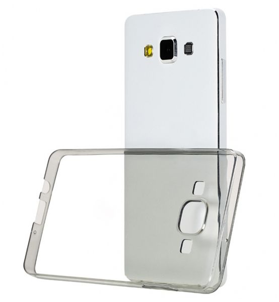 new style 48aa8 ddc59 Jelly Cover Samsung Galaxy A5 A500 Soft TPU Back Case - Transparent