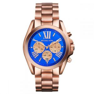 7474cb7d929d Michael Kors Bradshaw For Women Rose Gold Stainless Steel Band Chronograph  Watch - MK5951