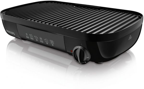 philips daily collection table grill hd6321 black ksa souq