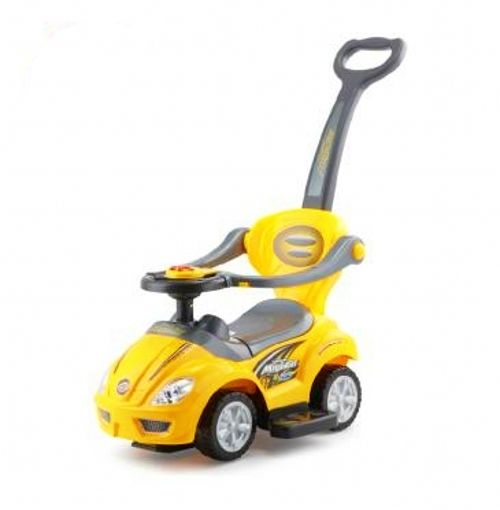 3 IN 1 Activity Ride-On for Unisex(Yellow,C381/382)