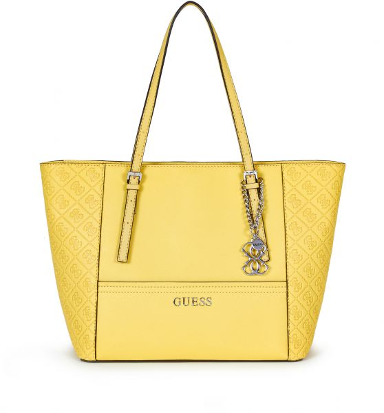 Guess Women s Delaney small classic Tote Bag- yellow se453522  1a01f8c0a3eb6