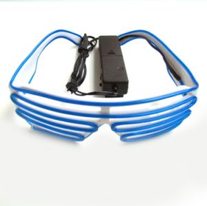 13478fa31a9 Light Up LED Wire Shutter Glasses